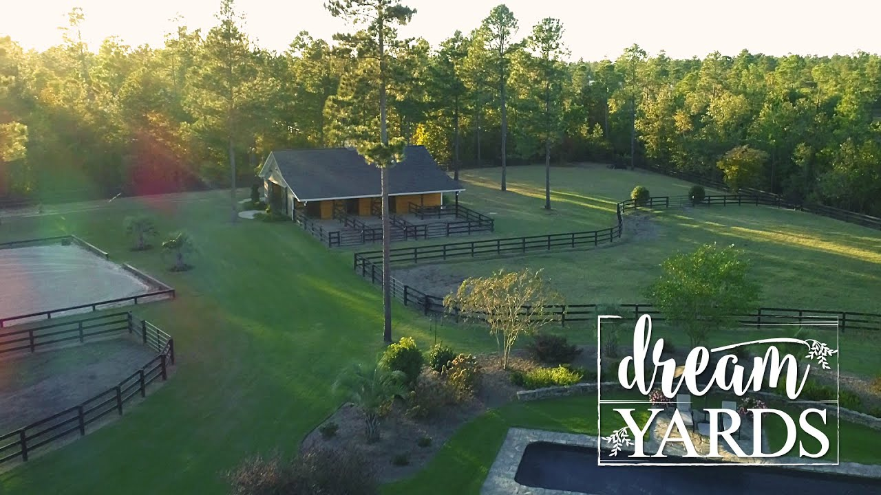 Equestrian Property Inspiration - Horse Property Landscaping