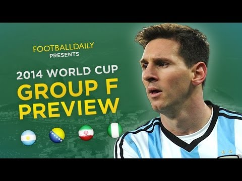 2014 World Cup Group F Preview & Predictions