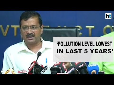 Post-Diwali pollution in Delhi lowest in last 5 years: Arvind Kejriwal