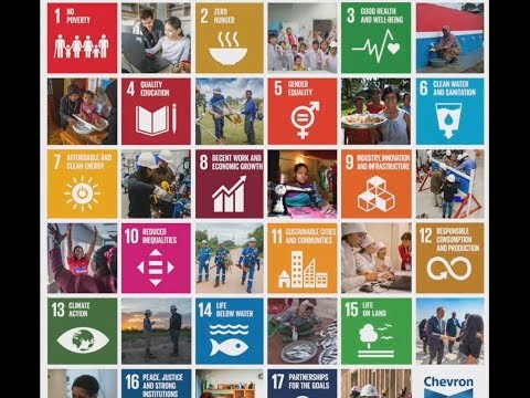 Chevron contributes to the United Nations Sustainable Development Goals