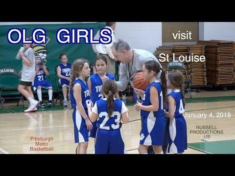 OLG  Girls visit St Louise  Jan 4,  2018