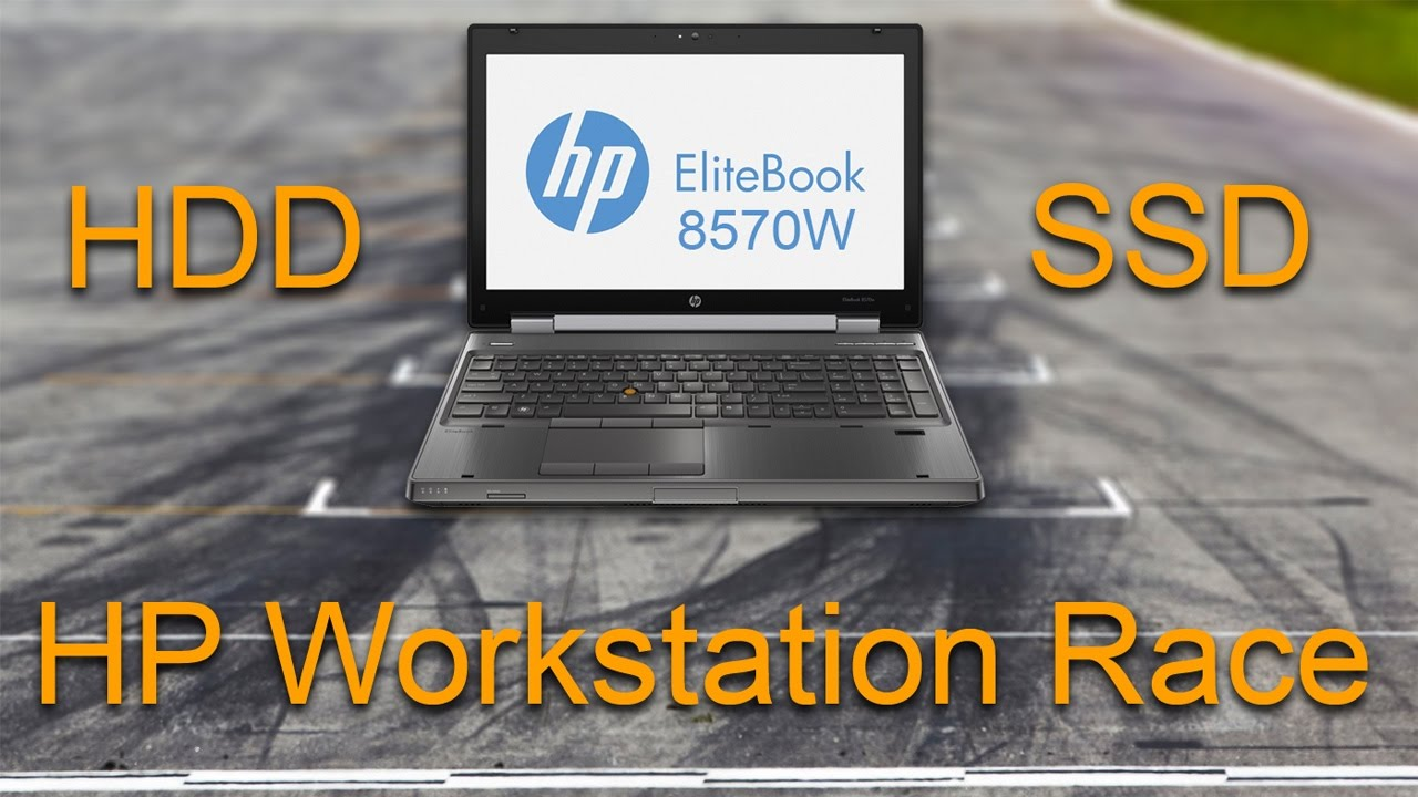 HP Elitebook Workstation 8570W Race - HDD vs SSD /boot and shut down/