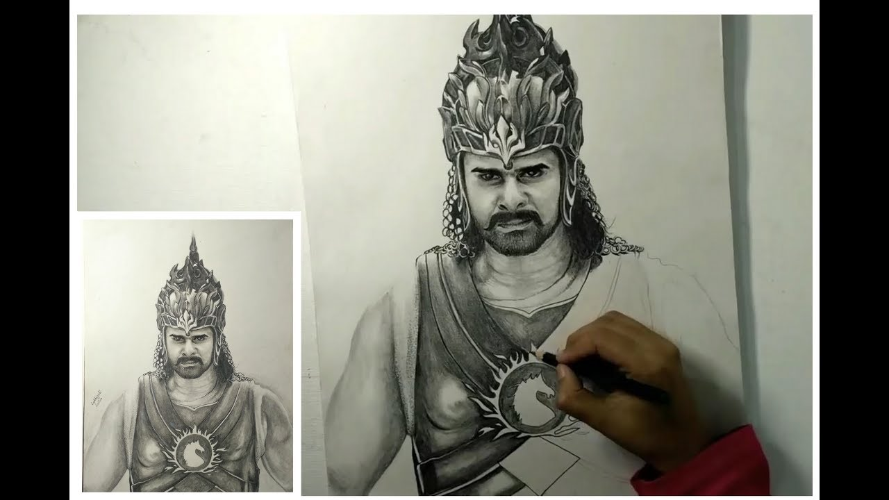 Bahubali drawing