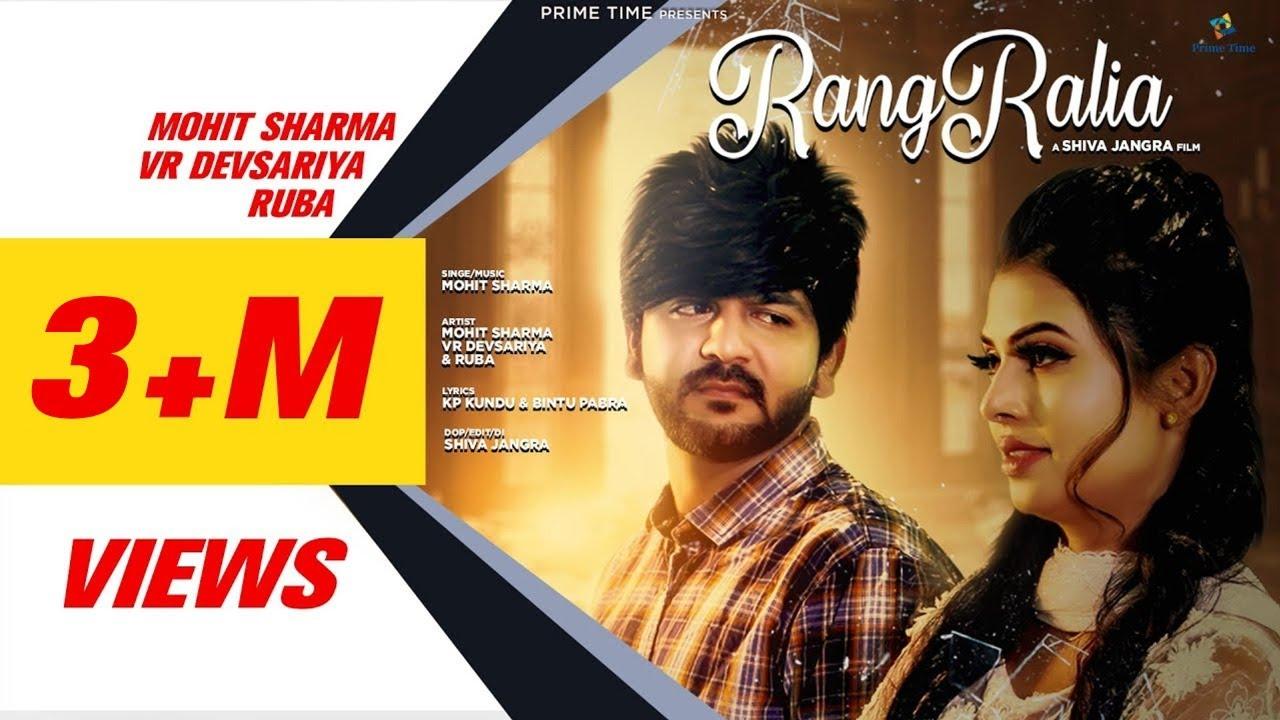 Download Rangraliya - (Official Video) Mohit Sharma - Ruba   VR Devsariya        Latest Haryanvi Song 2020