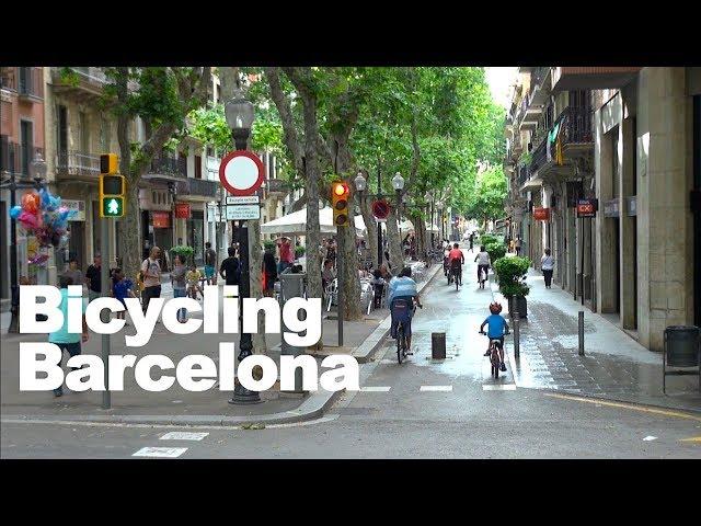 Barcelona Bike Montage