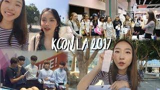 KCON LA 2017 VLOG / my first event, korean skincare haul + lovely friends! | diane 다이앤