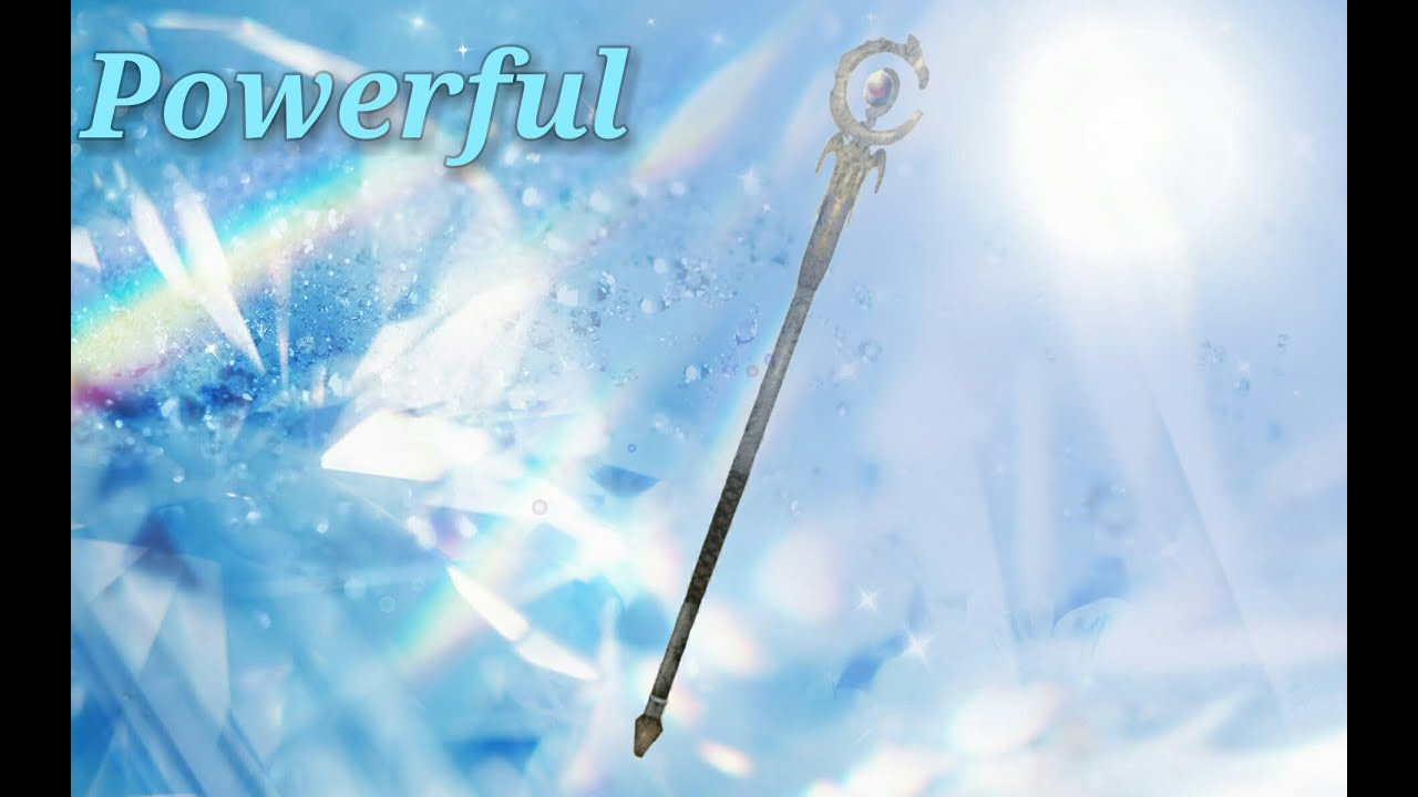 how to make a staff magical