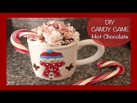 DIY Candy Cane Hot Chocolate | DIY Friday