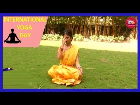 Ratan Rajput AKA Santoshi Talks About Importance Of Yoga   International Yoga Day