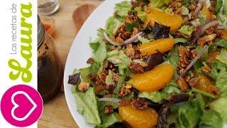 Ensalada Con Almendras Y Mandarina - Almond Mandarin Salad