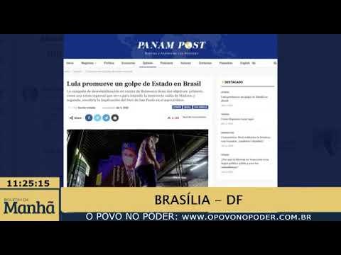Segundo o Jornal Panam Post Lula promove Golpe de Estado no Brasil