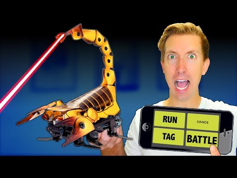 Build a ROBOT in Real Life - Battle Robots vs Fruit Ninja (DIY Gadgets Amazon Tech Unboxing Review)