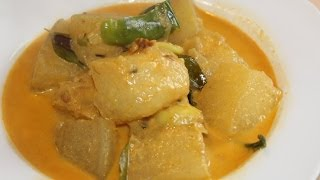 Winter Melon Curry (Ash guord,Puhul)