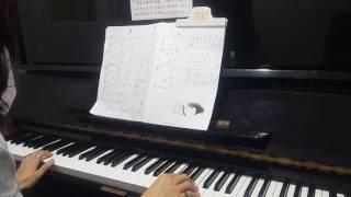"""看淡-2(電視劇""""一把青""""片頭曲)~張晴媛~鋼琴教學"""