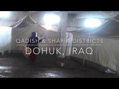 Distributing aid in Qadish and Sharia regions Iraq