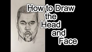 How to Draw the Head and Face 1 -  Proportions