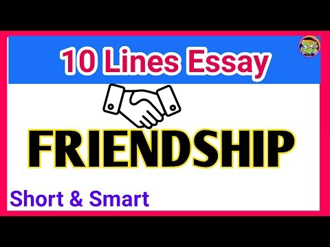 Essay On Friendship In English/paragraph On Friendship/friendship Paragraph