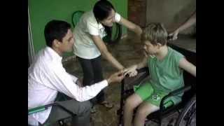 Óleo de Lorenzo - Criança com ALD no interior de Mato Grosso