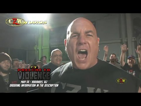 "CZW: ""The Ultraviolent Icon"" John Zandig returns to confront DJ Hyde! (StreamCZW.com)"
