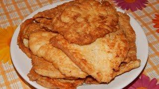 Как приготовить вкусные, сочные куриные отбивные.(How to prepare tasty, juicy chicken chops.)