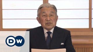 امبراطور اليابان يود التخلي عن العرش | الأخبار