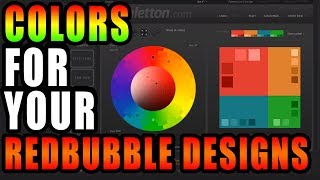 How to choose Redbubble colors to increase your sales