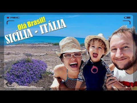 FAMÍLIA FRANCO-BRASILEIRA NA SICÍLIA - ITÁLIA! thumbnail