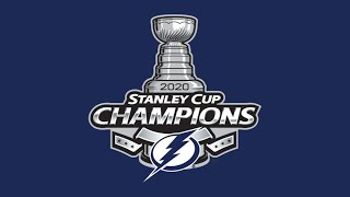 2020 Tampa Bay Lightning Stanley Cup Champions Tribute