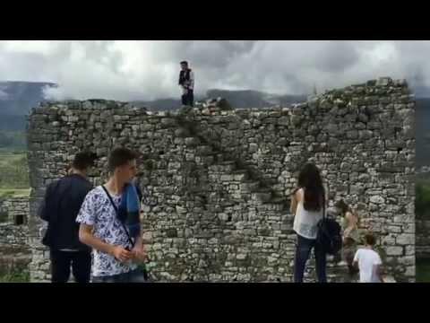Berat Castel scene