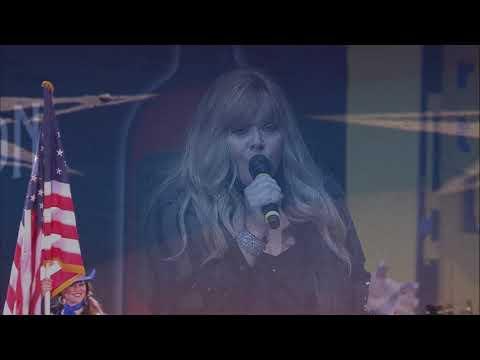 2019 Wrangler NFR Round 1 National Anthem Performance