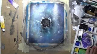"Time-lapse Painting : ""Portal"""