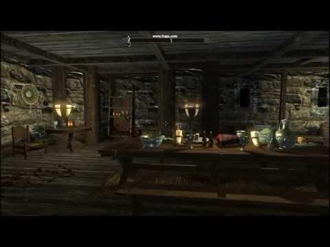 Hjerim house inside Windhelm Skyrim 01