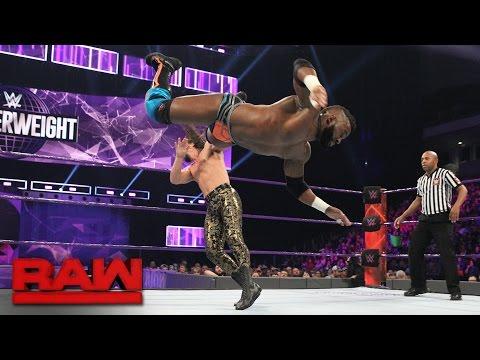 Cedric Alexander vs. The Brian Kendrick: Raw, Jan. 16, 2017