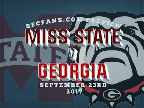 Miss State vs Georgia - Preview & Predictions - MSU vs UGA