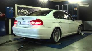* Reprogrammation Moteur * BMW 318d 143cv @ 188cv Dyno Digiservices Paris