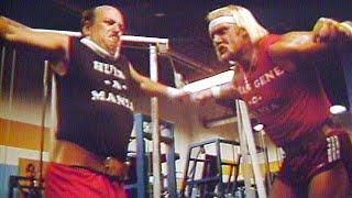 "Video ""Mean"" Gene Okerlund trains with Hulk Hogan download MP3, 3GP, MP4, WEBM, AVI, FLV Januari 2019"