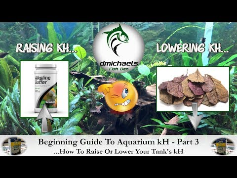 Beginning Guide To KH Part 3 - How To Raise Or Lower A Tank's KH...