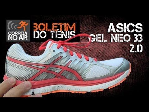 Asics Gel Neo 33 2.0  Boletim do Tênis  - YouTube 7e32e95040dba