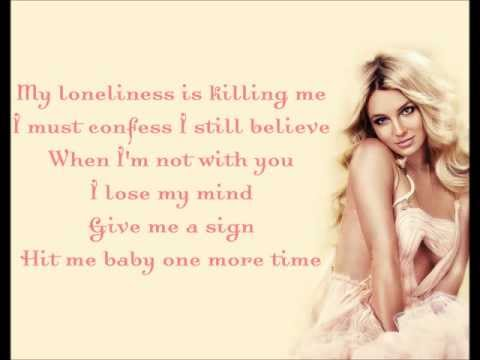 Britney Spears - ...Baby One More Time [Lyrics] HD