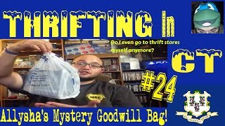 Thrifting in CT #24: Allysha's Mystery Goodwill Bag!