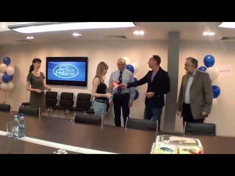 Поздравление медалистов от руководства Группы ПОЛИПЛАСТИК