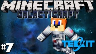 Minecraft Galactic Space Program - #7 DIMENSION DOOR?!?