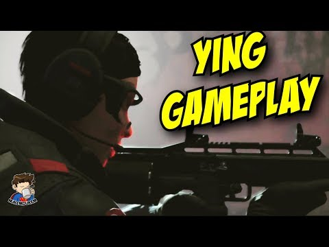 Rainbow Six Siege Ying Gameplay Gadget Ability Operation Blood Orchid Hong Kong Operator