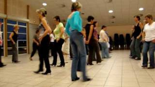 Electric Slide country line dance