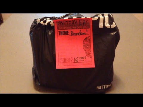 Hot Topic Mystery Bag Opening