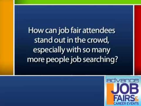 Tips from the Sacramento, CA, ADVANCE Job Fair