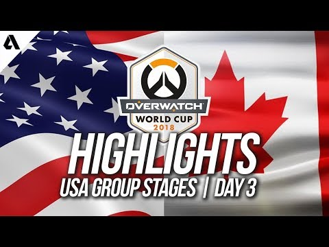 USA vs Canada | Overwatch World Cup 2018 Los Angeles Qualifier Day 3 thumbnail