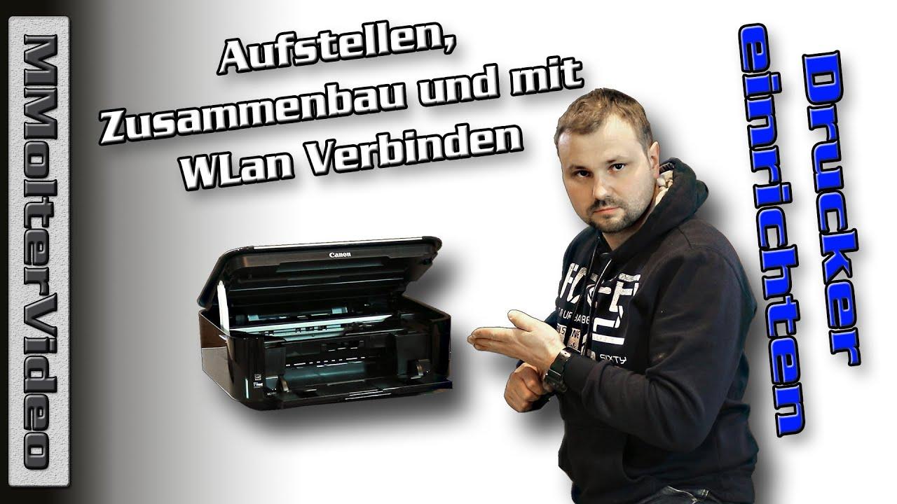 Drucker einrichten und mit WLAN verbinden Brother MFC-L10DW