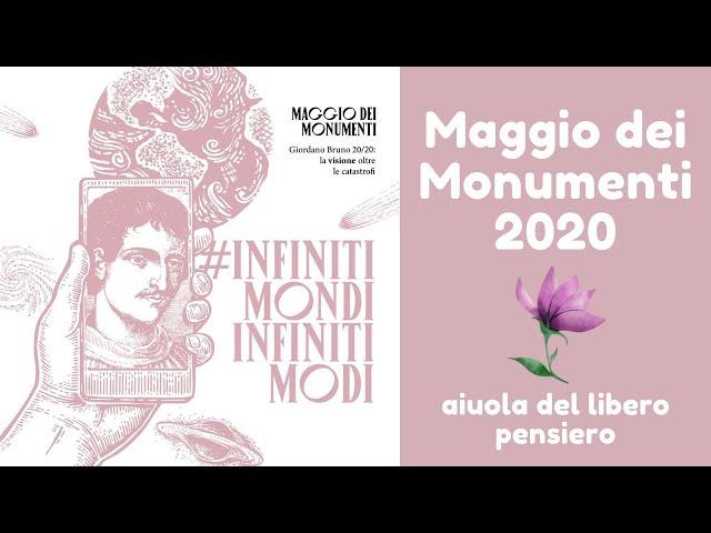 Maggio dei Monumenti 2020. Presentazione