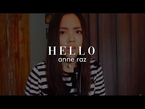"""HELLO"" - Adele | Anne Jazpher Raz Cover"